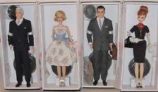 Set Of 4 Silkstone Mad Men Barbie Ken Dolls Betty Joan Don Roger MIMB Tissued