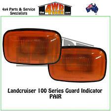 Indicator Guard Repeater Blinker Lights fit Toyota Landcruiser 100 Series PAIR