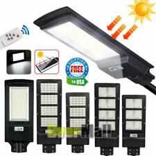 990000Lm Commercial Outdoor Dusk Dawn Solar Street Light Ip67 Led Road Lamp+Pole