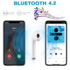 Auriculares Bluetooth Para Iphone, Blanco Inalámbrico Mini Manos Libres