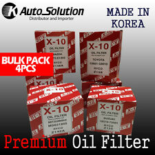 Premium Oil Filter Z148A fits HONDA Accord Prelude MAZDA 626 Forester 4PCS