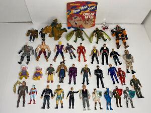 Vintage Lot Action Figures Dragon Flyz Thundercats a-team x-men Hercules