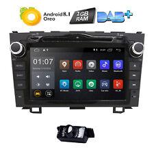 Android 8.1 2 Din Car Stereo DVD BT Radio TV USB For Honda CRV CR-V 2007-2011