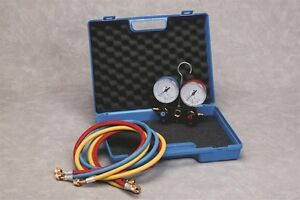 N011106 2 WAY MANIFOLD KIT AC TOOLS AND EQUIPMENT **WHOLESALE PRICE**
