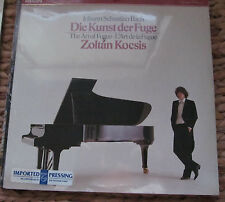 BACH Die Kunst Der Fuge - ZOLTAN KOCSIS piano - Philips 412 729-1 - SEALED 2 Lps