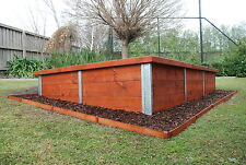 Timber Retaining Wall Posts 1600mm x 75mm H or Corner Section FREE DELIVERY MELB