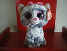 Ty Beanie Boos WILLOW the cat 6 inch NWMT. Justice Exclusive.LIMITED QUANTITY.