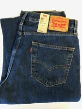 Levi's Men's 550 Relaxed Fit Blue Jeans Size 29, 31, 32, 35, 42 NEW Ret $59.50