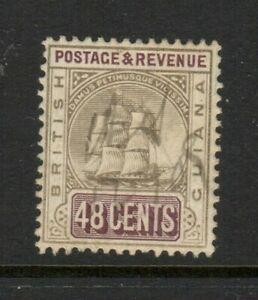 British Guiana Scott #144 Used, light cancel