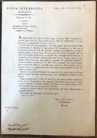 Acqui Regia Intendenza Circolare 360 Stabilimento di Fiere e Mercati 1849