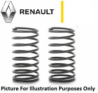 Renault Clio Mk2 Front Coil Springs x 2 PAIR 1998 to 2005 1.2