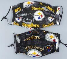 Nfl Pittsburg Steelers Face Masks - w/filter pocket