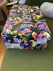 KenzoxVans Vans Collab SK8-Hi LX Yellow Men's 11.5 Kenzo Limited! Brand New!