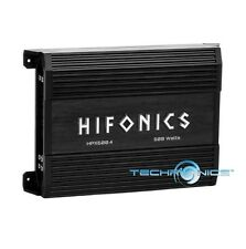 HIFONICS APOLLO HPX600.4 600W 4 CHANNEL SPEAKERS AMP CAR AUDIO STEREO AMPLIFIER