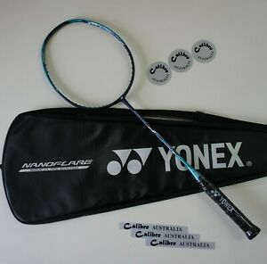 YONEX Nanoflare 700 Badminton Racquet NF700 4U5 Blue/Green Choose Tension/String