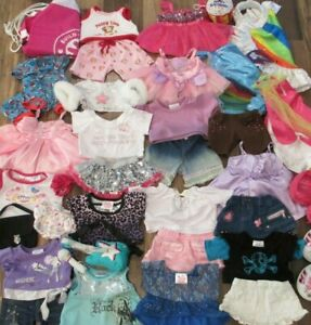 Beautiful Girl Bear Dresses, Outfits, Pajamas & Shoes by Build-A-Bear Workshop