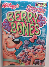 "Scooby Doo Berry Bones Vintage Cereal Box 2""x3"" Fridge or Locker MAGNET 80's"