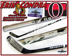 ERIK CONDRA Game Used Stick OTTAWA SENATORS REEBOK 11K w/COA