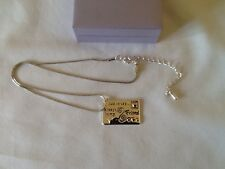 silver plated,friend pendant necklace,Equilibrium,new,rrp £17.99