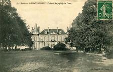 Carte SAINT SAUVEUR MARVILLE Château de Jaglu Côté Ouest