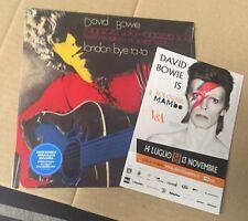 "DAVID BOWIE - RAGAZZO SOLO RAGAZZA SOLA - VINYL  BLUE 7""  45 GIRI - SEALED MINT"