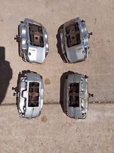 2001-2008 JAGUAR S-TYPE R XJR XKR SET BRAKE CALIPERS BREMBO