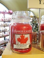 "Yankee Candle - O CANADA! - 22 oz - COLLECTOR""S LIMITED EDITION!! - VERY RARE!!"
