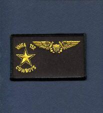 VMFA-112 COWBOYS F-14 PHANTOM NFO  USMC Marine Corps Squadron Name Tag Patch
