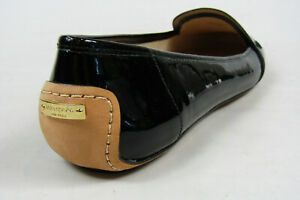 Kate Spade New York Natalia Black Patent Leather Penny Loafers Flats Shoes Sz 11