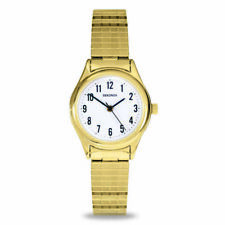 Sekonda 25mm Ladies Gold Watch With Stretch Band SK4602