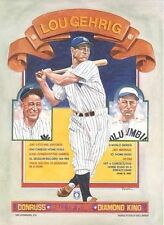 1985 LOU GEHRIG PICTURE PUZZLE (NEW YORK YANKEES, COLUMBIA UNIVERSITY