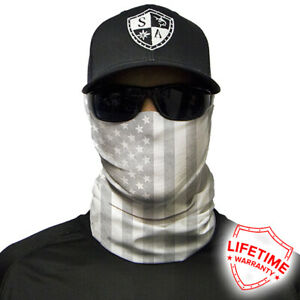 SA Whiteout American Flag Face Shield. Only $5 each when you buy 3!!