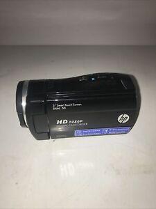 "HP 1080 High Def Digital Camcorder 3"" Smart Touch Screen V5061u Tested"