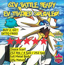 SOLGALEO 6IV Pokemon Sword & Shield    SHINY✨   + DITTO OFFER   LEGITIMATE