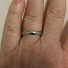 Band Size 8 Sterling Silver Wedding
