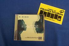K-Rino Album 06: Welcome To Life Texas Rap CD NEW Piranha Records