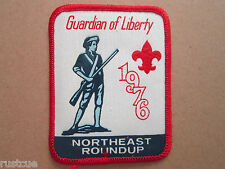 Boy Scouts Of America Northeast Roundup 1976 Cloth Patch Badge