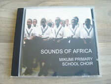 CD african folk TANZANIA world SOUNDS OF AFRICA Mikumi Primary School Choir