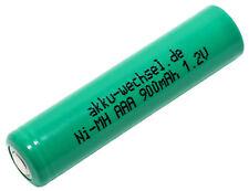 1,2v Flattop NiMH Mignon AAA batería 900mah   industria celda