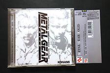 METAL GEAR SOLID + spinecard konami playstation OST CD JAPAN