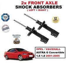 AVANT GAUCHE + DROIT Amortisseurs Kit pour ASTRA G Convertible 1.6 1.8 2001-2005