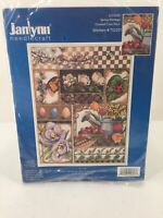 Janlynn Counted Cross Stitch Kit Spring Montage 017-0101 Floral Fruit Butterfly