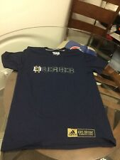 Chicago Cubs Kris Bryant Blue Adidas Climalite Shirt Small Good Condition