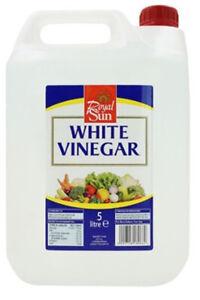 Distilled White Vinegar 5L x 4 gallons Weed Killer Vinegar