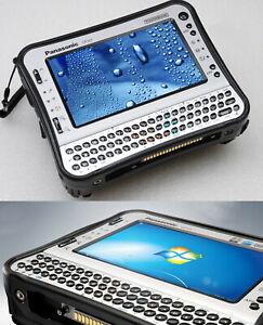 Impact Scratch Tablet PC Notebook Toughbook CF-U1 32 GB SSD Hard 1GB RAM IP65