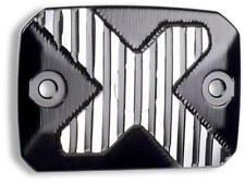 Ducati Scrambler Front Brake Reservoir Cover Black & Silver Billet 96180301A