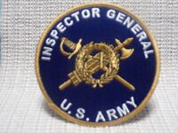 US ARMY INSPECTOR GENERAL PATCH