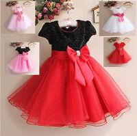 Vestito Party Feste Natale Bambina - Party Girl Princess Christmas Dress 020001