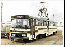 Tram Photo Blackpool Corporation Tramways GEC Traction test bed 651, Rare photo