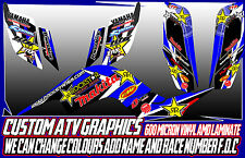 YAMAHA BANSHEE RAPTOR 250/350/660/700/ YFZ450 ALL YEARS GRAPHIC DECALS ATV QUAD